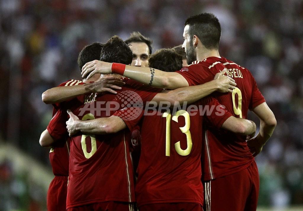 スペインが赤道ギニアに辛勝、サッカー国際親善試合