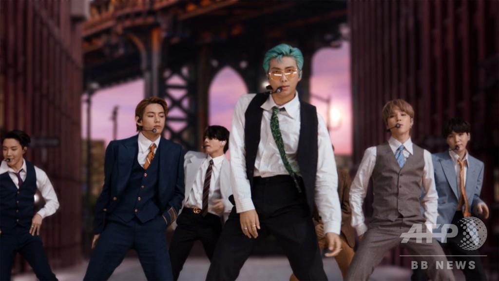 BTS「ダイナマイト」が米ビルボードシングル1位 韓国アーティスト初