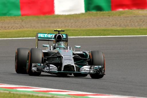 ロズベルグがフリー走行1回目でトップ、日本GP