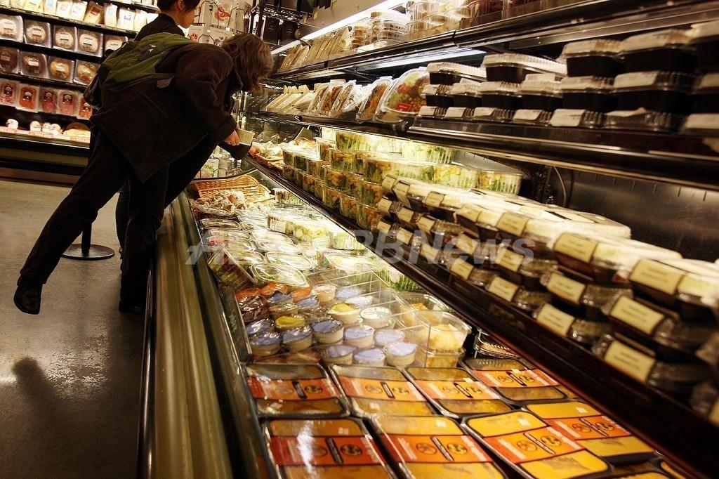 肥満対策に効果「ジャンクフード課税」、米研究