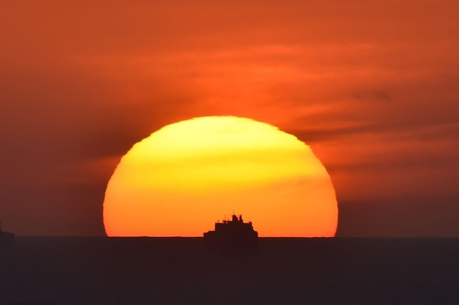 【写真特集】AFPが世界中で撮影した夕日