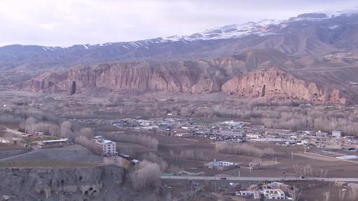 動画:バーミヤンの遺跡、気候変動で崩壊の危機 アフガニスタン
