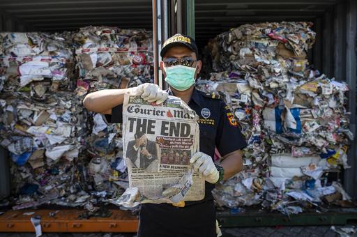 先進国の「ごみ捨て場」にされるのはうんざり、アジアが受け取り拒否