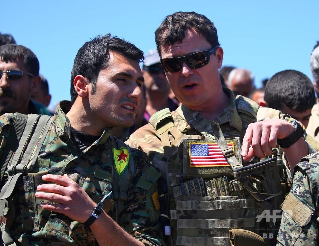米軍、シリア完全撤退へ トランプ氏、IS打倒を宣言