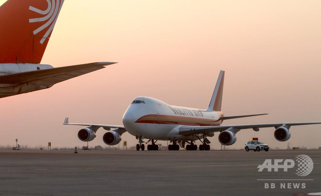 中国・武漢と米ダラス、ロスの定期貨物便がフライト コロナ禍乗り越え新ルート開拓