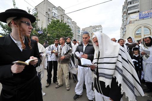 ウクライナ東部で反ユダヤ文書、何者かによる挑発か