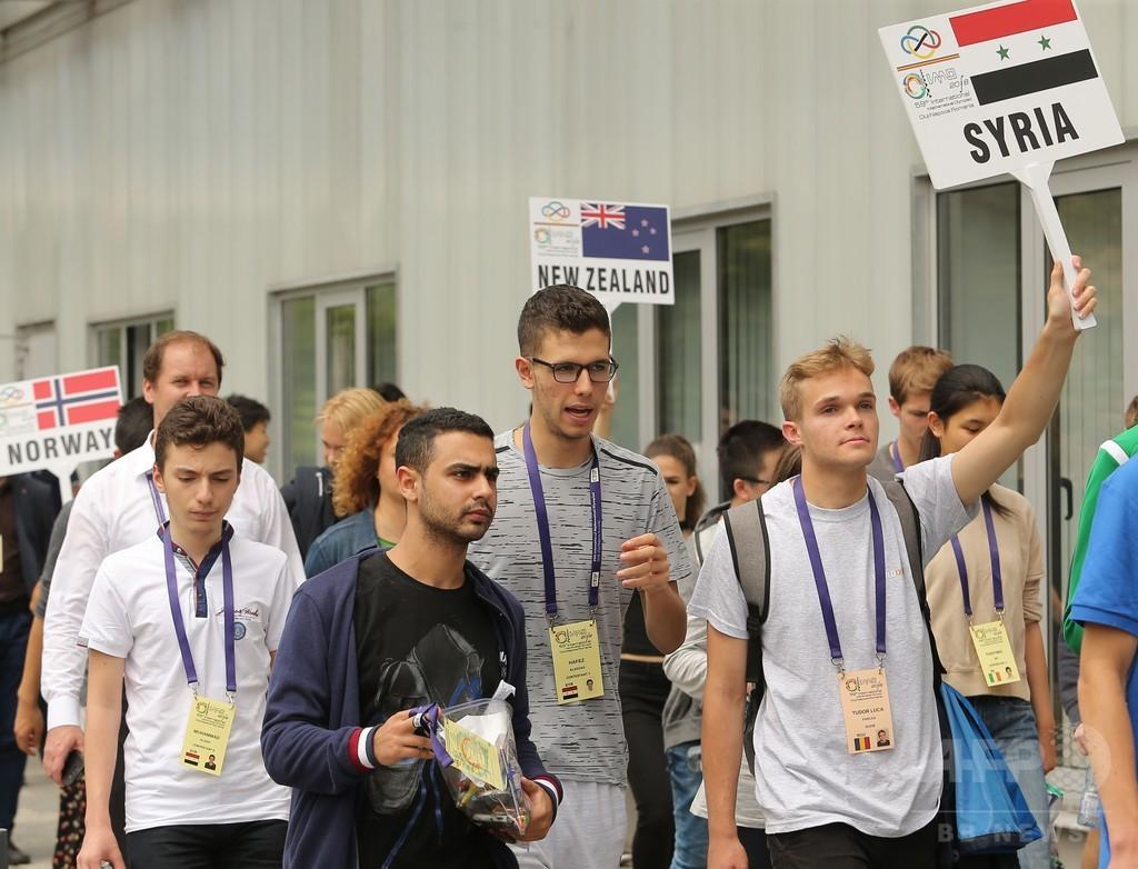 シリア大統領の息子、国際数学オリンピック出場 ルーマニア