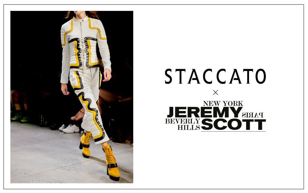 「スタッカート × ジェレミー・スコット」、先行発売開始
