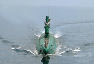 北朝鮮の潜水艦が行方不明、米メディア報道
