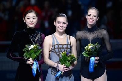 ソトニコワが女子シングルで金メダル、ソチ五輪
