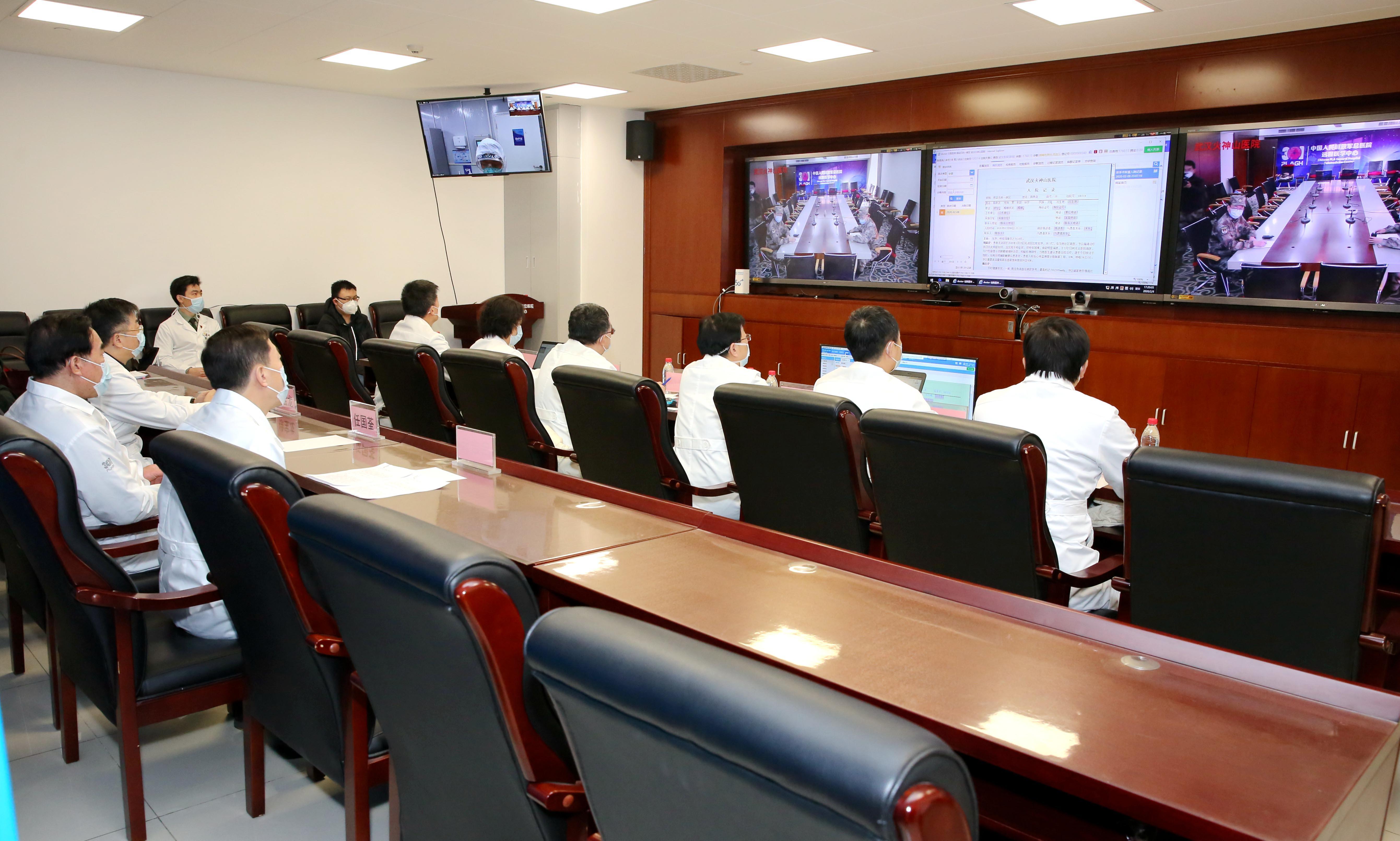 北京と武漢の病院、5Gを使った遠隔診療実施