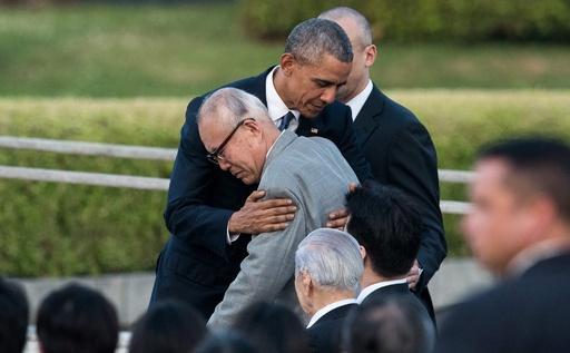 オバマ米大統領、広島・平和記念公園で追悼演説