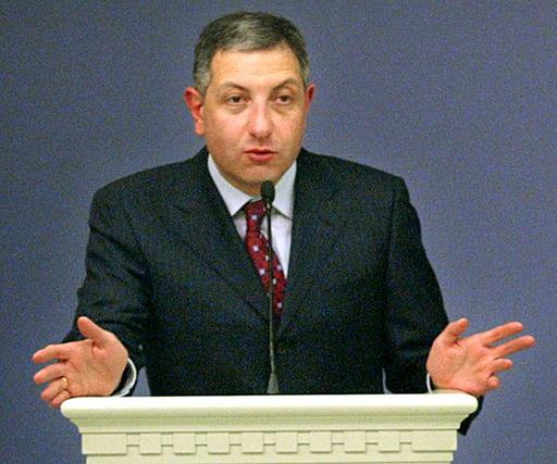 グルジアのノガイデリ首相が辞任、後任にグルゲニゼ氏