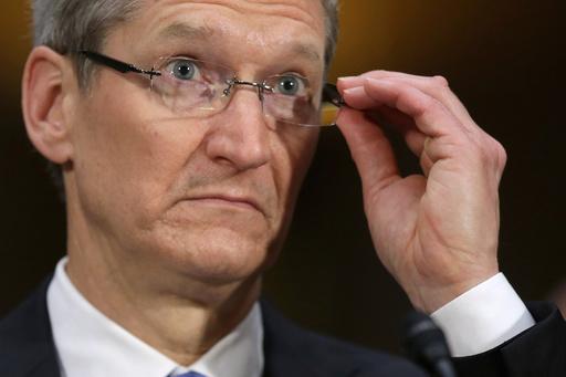 米アップルの課税逃れ疑惑、上院公聴会でCEOが否定