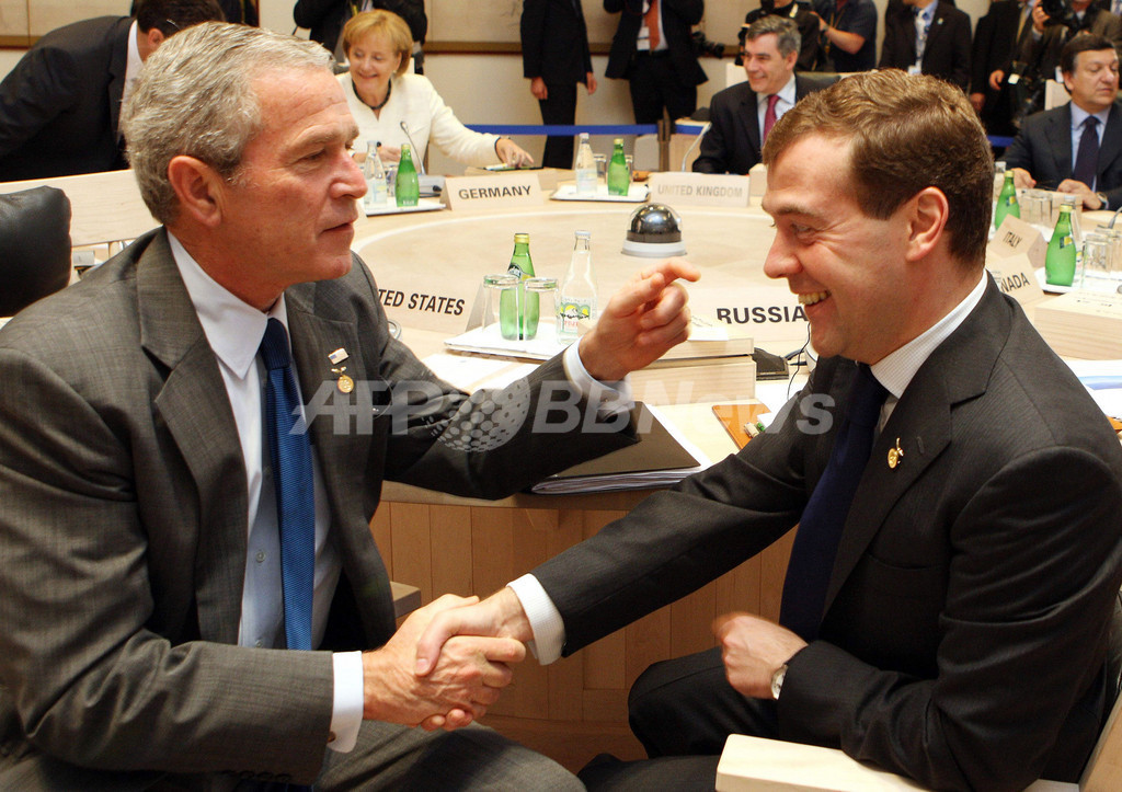 露大統領、東欧での米MD計画に強く反発 対抗措置も示唆