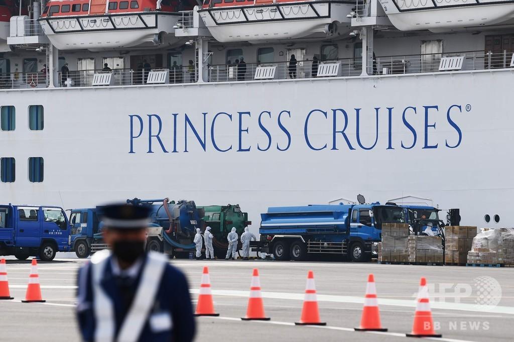 クルーズ船のバレンタインデー、感染した妻だけ下船した新婚夫婦も 横浜