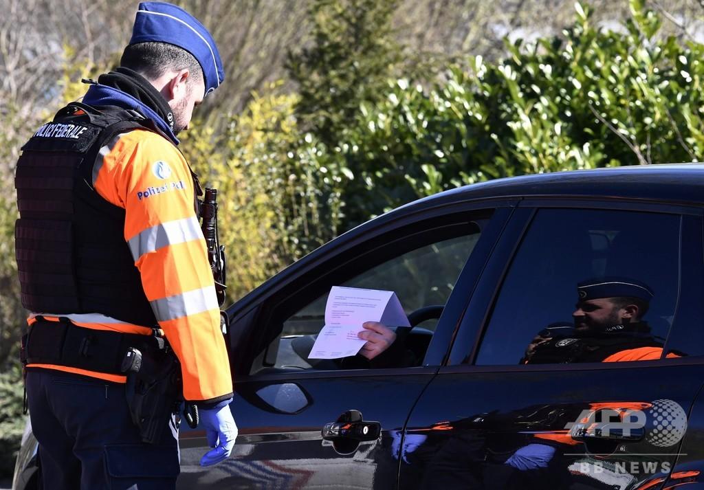 「コロナだ!」と警官につば吐きは犯罪行為、最大2年の禁錮刑に ベルギー