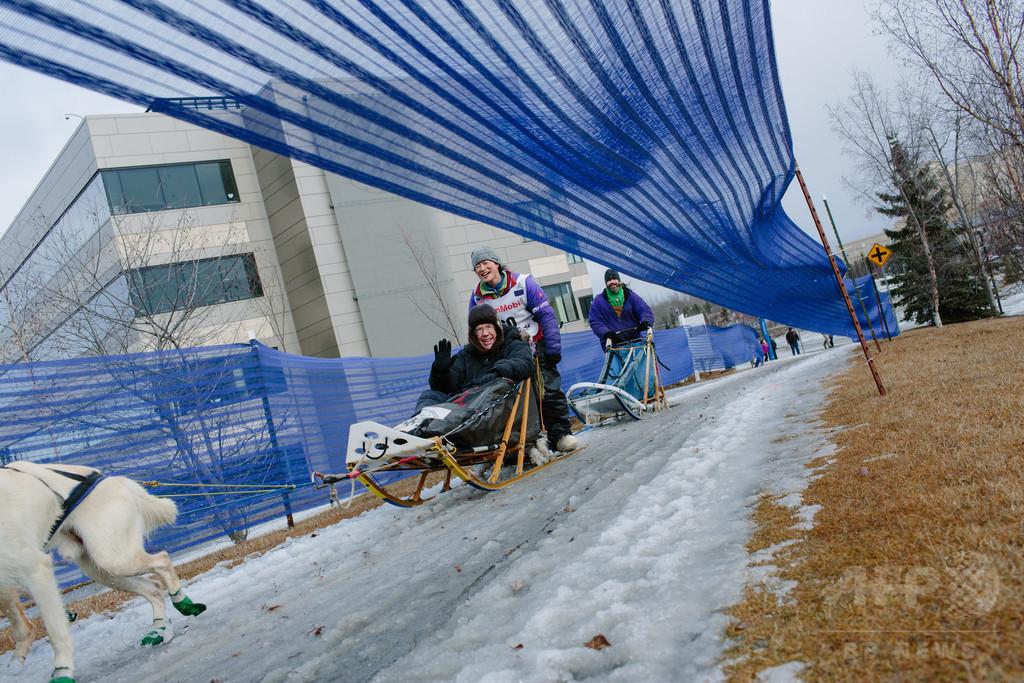 女性犬ぞり師の本多さん、1600キロの米レースを無事完走