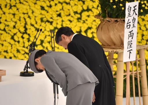 令和初の戦没者追悼式、天皇陛下「深い反省」踏襲