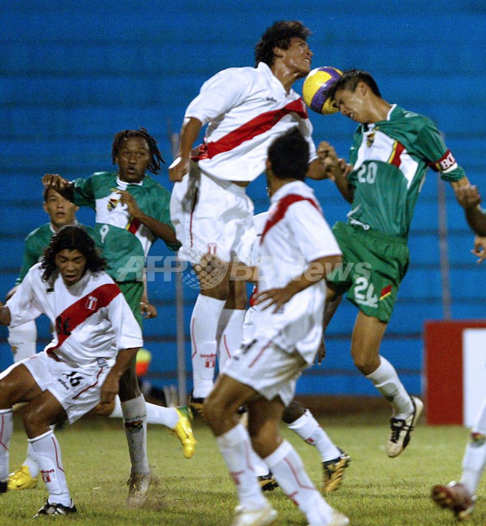 <サッカー 07南米ユース選手権>ボリビア ペルーに快勝しグループリーグ初白星 - パラグアイ