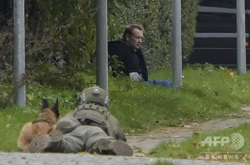 潜水艇女性記者殺害事件、受刑者を脱獄未遂で逮捕 デンマーク