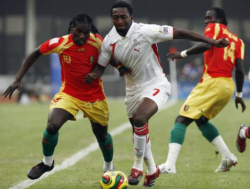ギニア 3大会連続で8強入り