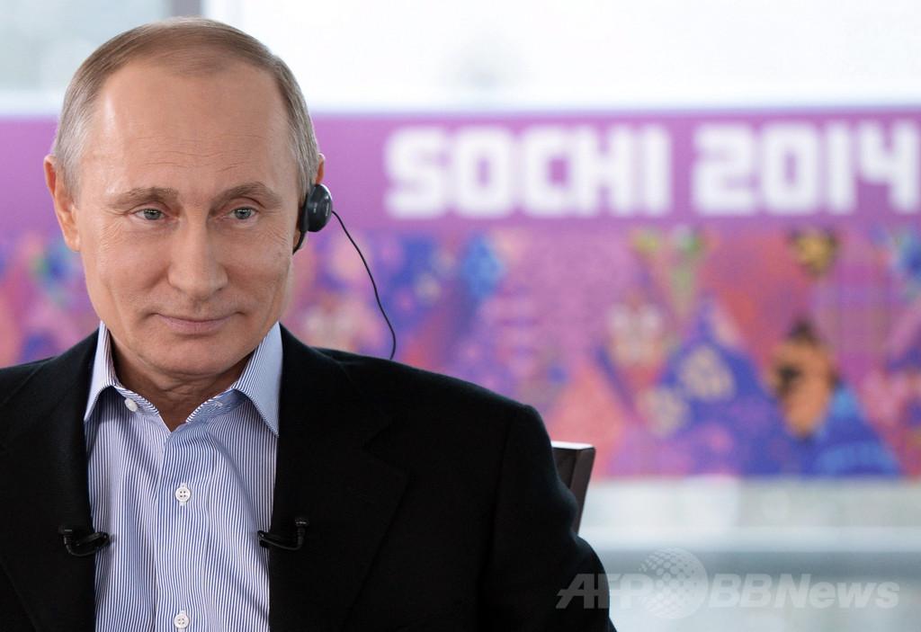 プーチン大統領、反同性愛法批判に「エルトン・ジョンは好き」