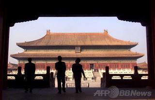 中国・紫禁城の無人機空撮、「当局が阻止」 写真家が公表