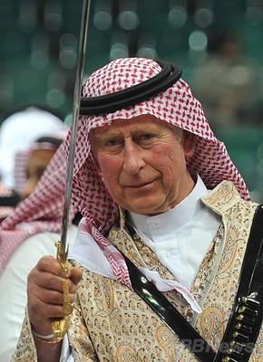 アラビアのチャールズ」?英皇太...