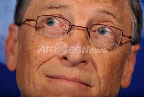ビル・ゲイツ氏、マラリアの危険性を訴え講演会場で蚊を放つ