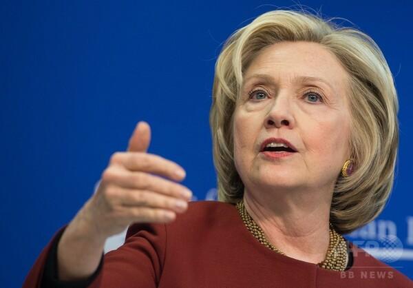 クリントン氏、大統領選出馬を表明 「普通の米国人の擁護者に」