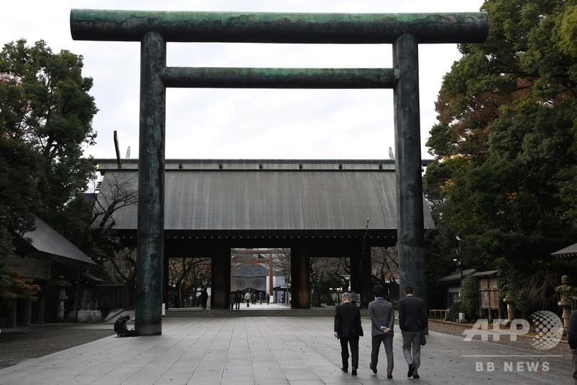 靖国神社で不審火、中国人男を逮捕 南京事件に抗議か