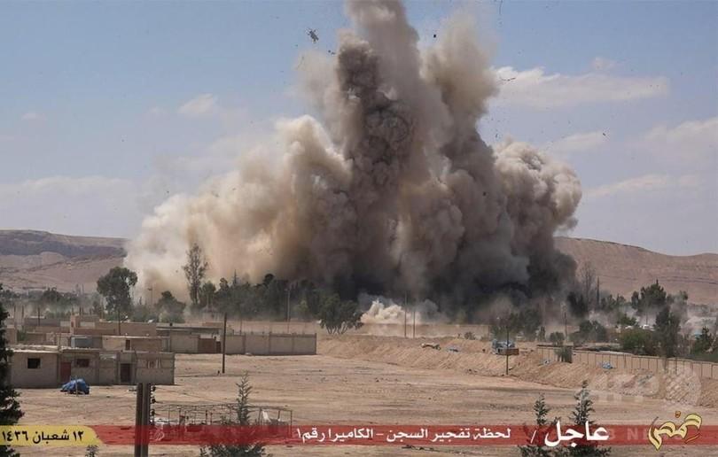 シリア・パルミラの刑務所をISが爆破、アサド政権の残虐さの象徴