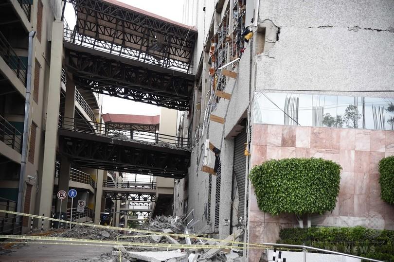 メキシコ地震、建物倒壊は「人災」か 違法建築や行政の怠慢問う声