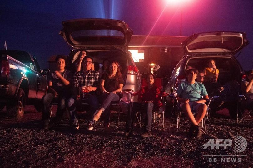 懐かしのドライブインシアターで「特別気分」 今も常連客に人気 米
