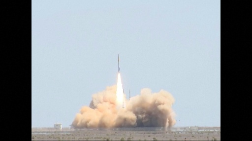 動画:中国初の民間ロケット、打ち上げ成功