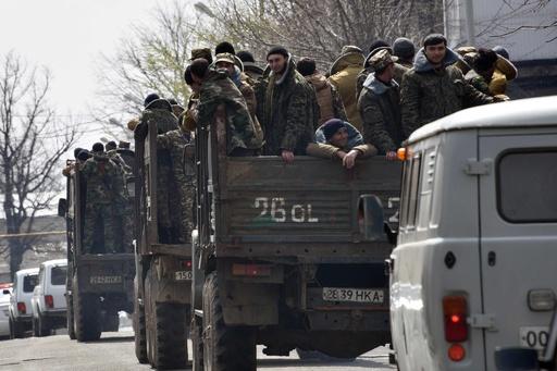 アゼルバイジャン西部、停戦合意も戦闘 アルメニア系勢力2人死亡