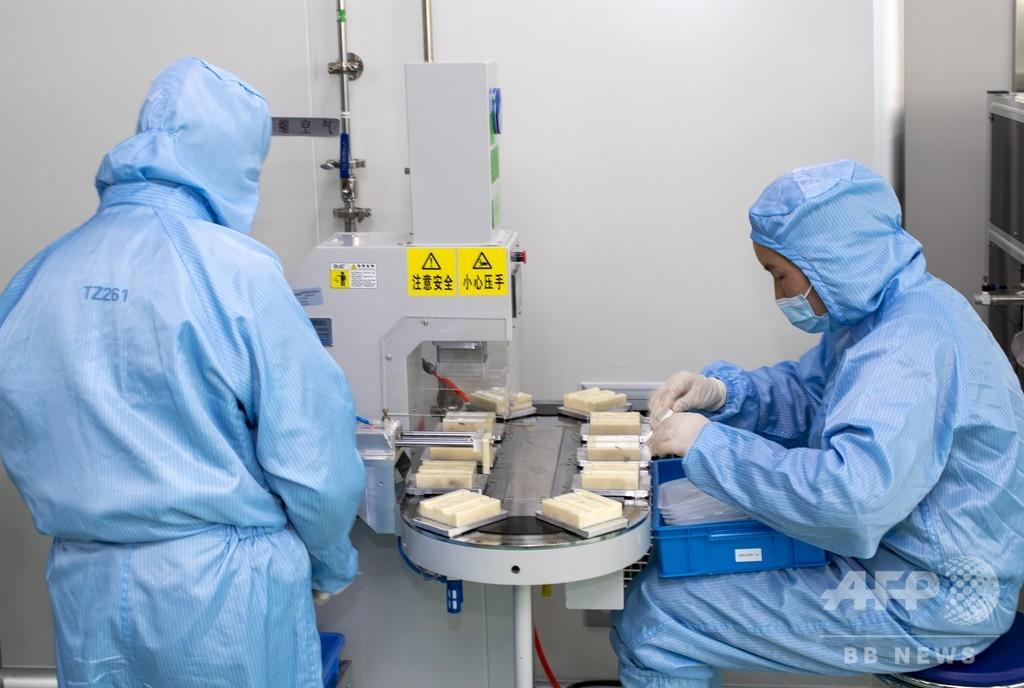 中国の新型コロナ向け医療物資供給、国内向けと海外向けに対応