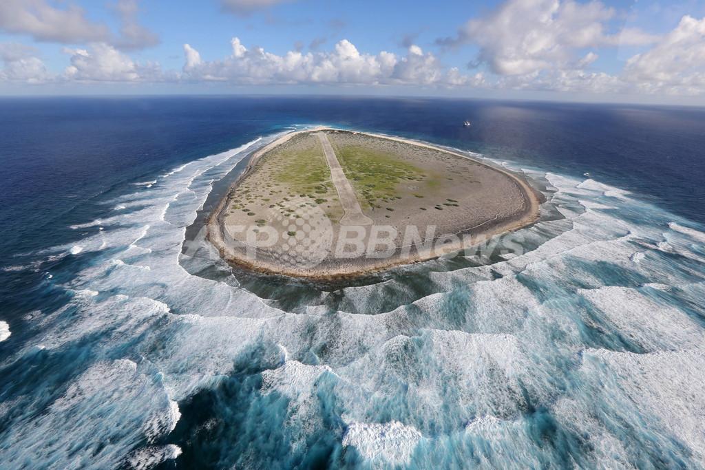 フランス海外領土相、マダガスカル沖トロメリン島を視察