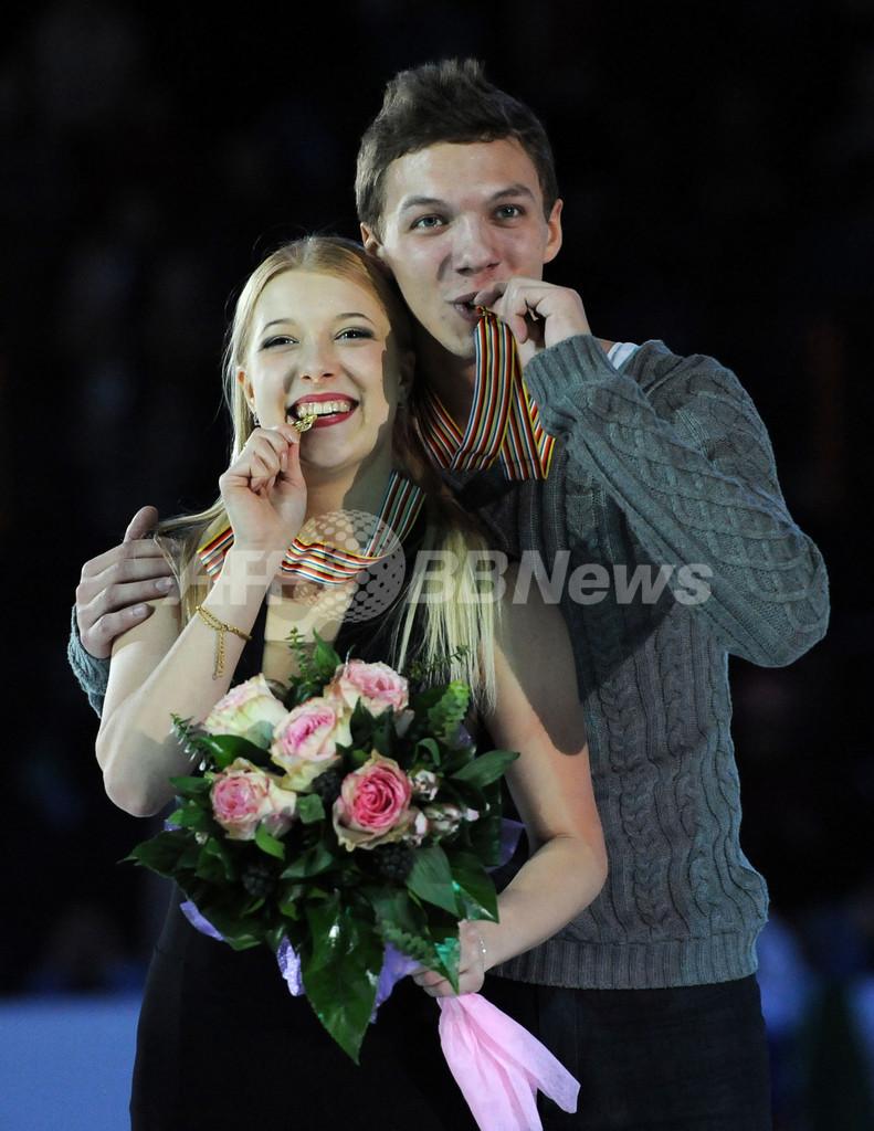 ボブロワ/ソロビエフ組がアイスダンス初優勝、フィギュア欧州選手権
