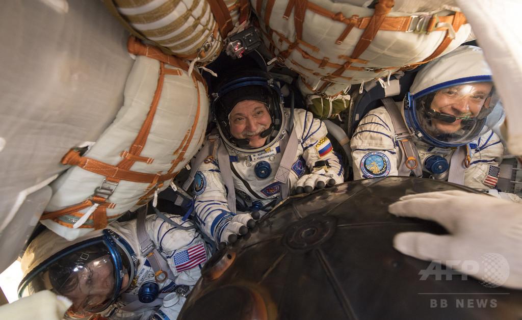宇宙空間滞在日数でNASA最長に、女性飛行士が帰還