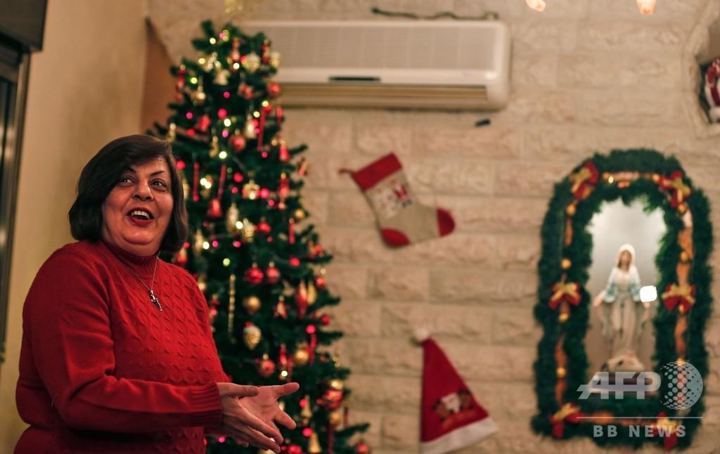 ガザ地区キリスト教徒のクリスマスに暗い影、ベツレヘム訪問の許可下りず