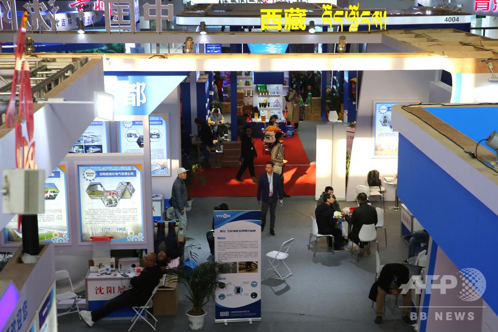 北京冬季五輪の最新技術が登場、中国北京国際科技産業博
