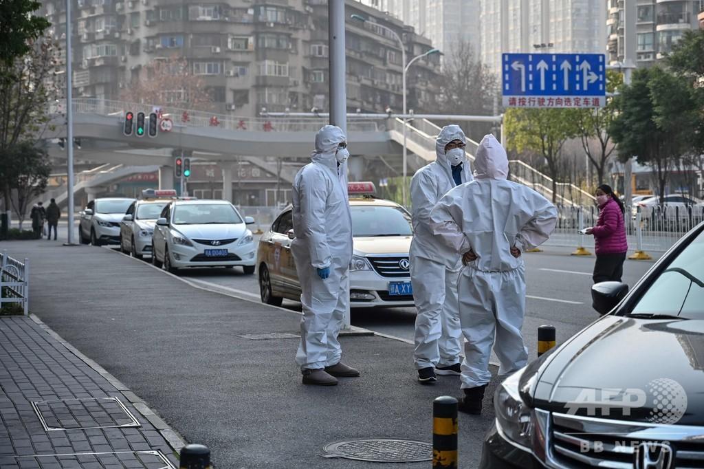 武漢の路上に男性1人の遺体、新型肺炎との関連は不明