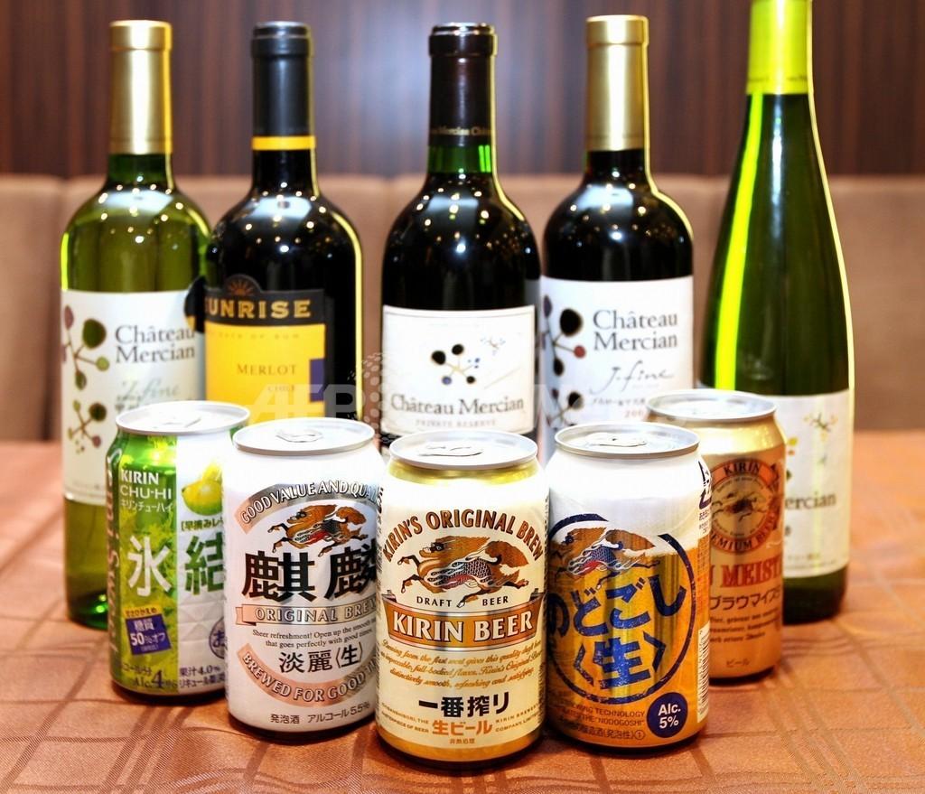 キリンとサントリー、経営統合で交渉 酒類・飲料で世界最大級へ