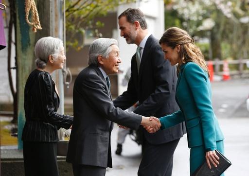 スペイン国王夫妻静岡へ、両陛下と防災センターや浅間神社を訪問