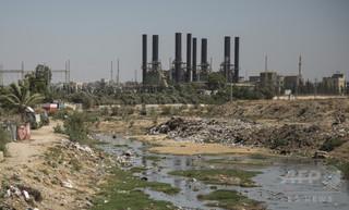 パレスチナ・ガザ、下水を海に放出へ 燃料不足で処理できず