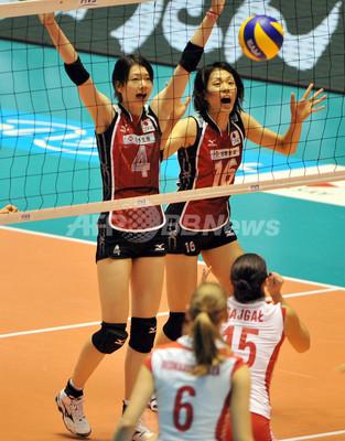 日本女子、白星発進 ポーランドに逆転勝ち 世界バレー 写真6枚 ...