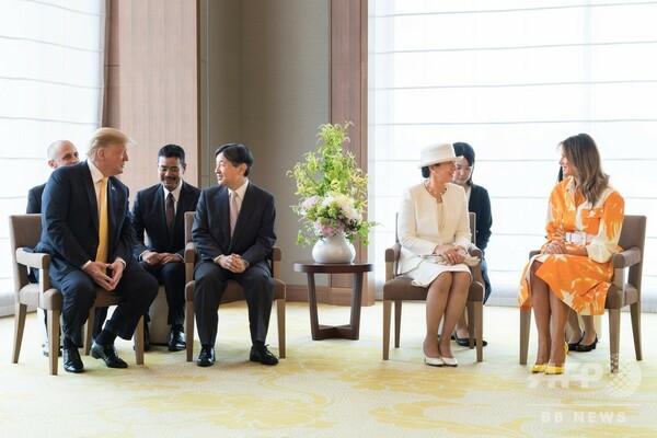トランプ米大統領、羽田から帰途へ 両陛下に別れのあいさつ
