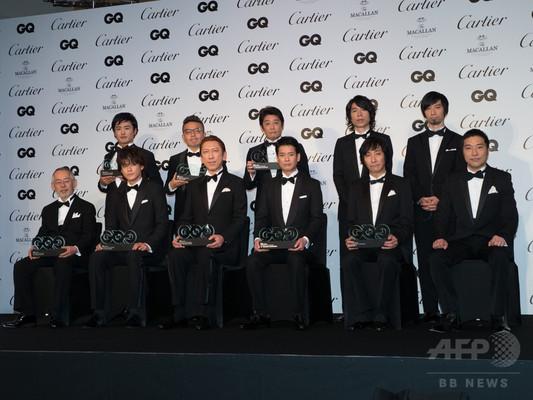 小栗旬や布袋寅泰、坂上忍ら受賞、「GQ Men of the Year 2014」